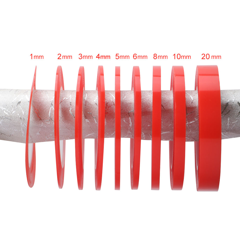 1Roll 2mm x 25m Heat Resistant Acrylic Double Sided Adhesive Tape Transparent Clear Sticker for Mobile Phone LCD Repair Tool