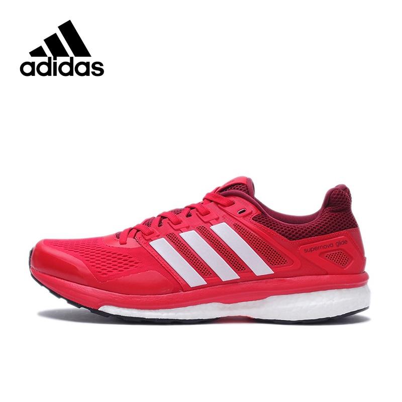separation shoes f5382 9372e Original Adidas QS Supernova Glide 8 m Boos Breathable Men s Running Shoes  Sneakers men Outdoor Sports Brand Designer BB4054