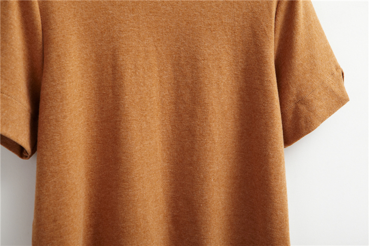 HTB1l f5LVXXXXbVaXXXq6xXFXXXX - Summer T-Shirt Short Style Casual Stand Collar