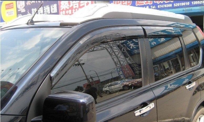 Voor Toyota Prado Fj120 Land Cruiser Window Visor Deflector Zon Regen Schaduw Vent 2003 2004 2005 2006 2007 2008 2009 Redelijke Prijs