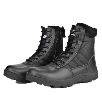 Boots Winter Military leather boots for men Combat bot Infantry tactical boots askeri bot army  army shoes erkek ayakkabi Q718