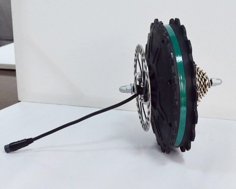 45Kph 4.9Kg puissant moteur de moyeu arrière sans brosse à entraînement direct 48 V 500 W pour vélo électrique et vélo électrique