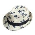Мужчины Женщины Летнее Солнце шляпу Пляж мода Cap Fedora шляпа бандитский Cap Beach Sun Соломы Панаме Sunhat На Складе!!!