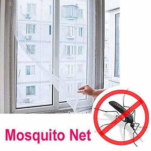 Fly Moskito Fenster Net Mesh Screen Zimmer Cortinas Moskito Vorhänge Net Vorhang Protector Fly Screen Inset