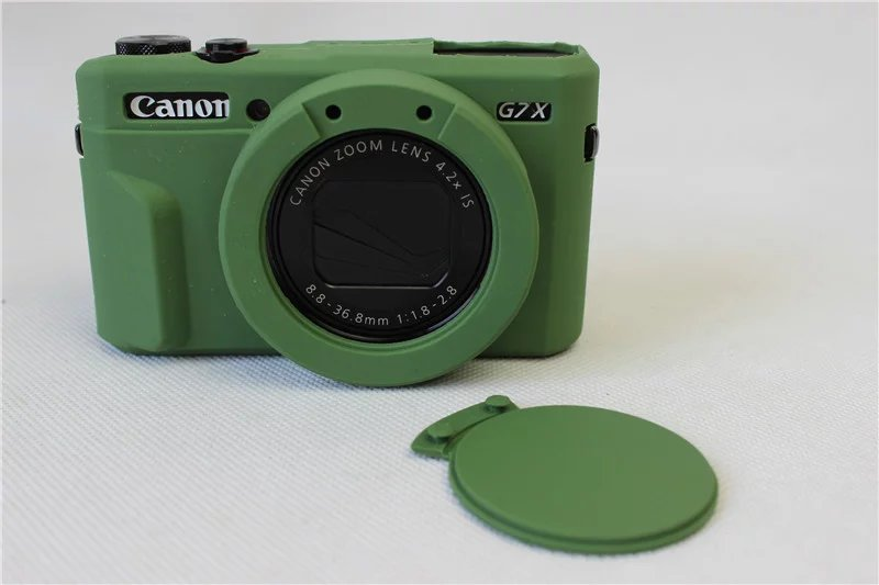 Silicone Rubber Camera Case Bag Cover For Canon Powershot