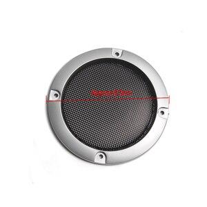 Image 4 - Rede protetora de alto falante, substituição de prata de alta qualidade, malha redonda, capa para grade do alto falante, 2/3 polegadas, 1 par acessórios