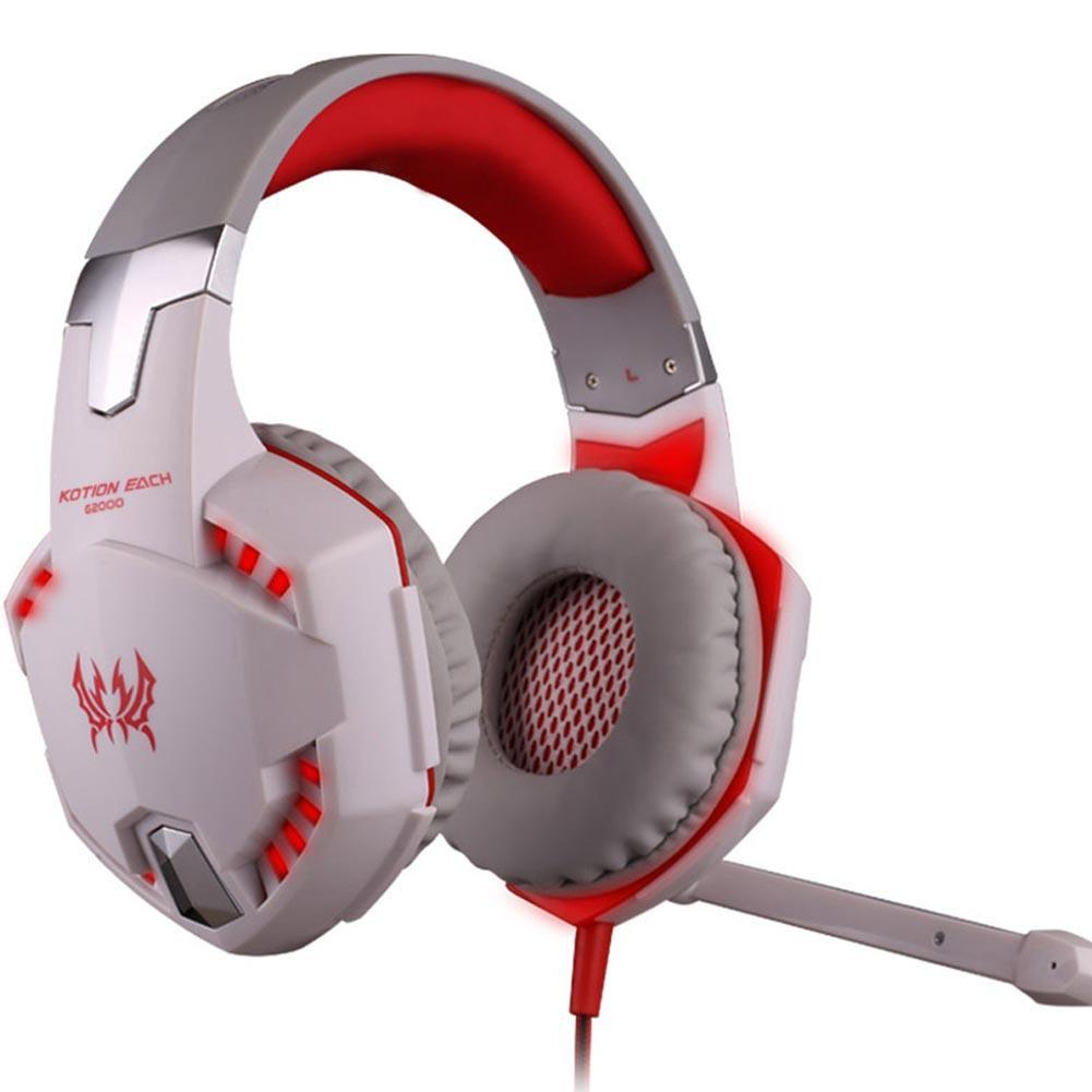 High quality!Deep Bass Game Headphone Stereo Surrounded Sound Over-Ear Gaming Headset Headband Earphone Led light