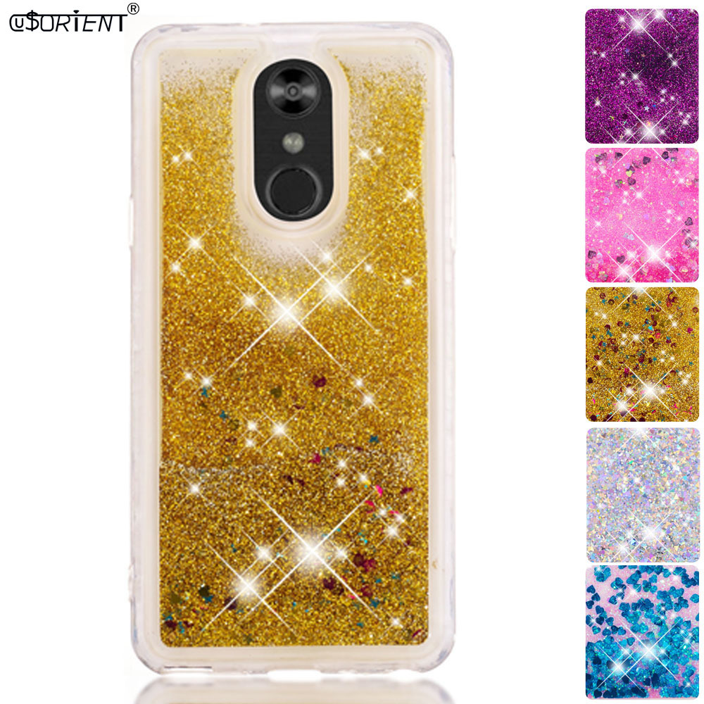 Half-wrapped Case Adaptable For Lg Q Stylus Plus Stylo 4 Bling Glitter Dynamic Liquid Quicksand Back Case Lmq710naw Q710ms Stylo4 Soft Silicone Phone Cover Phone Bags & Cases