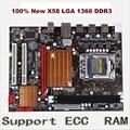 Nova X58 motherboard desktop para LGA 1366 DDR3 16 GB apoio ram ecc para quad-core agulha 8PIN CPU motherboard frete grátis
