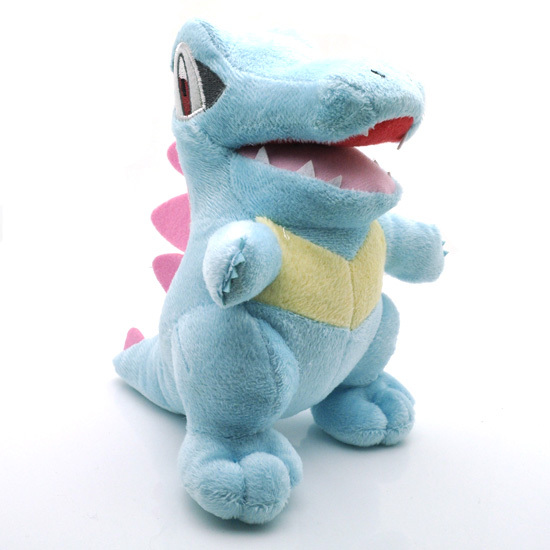 18cm  Plush Toy Dolls kawaii Totodile Cayman Crocodile Plush Soft Stuffed Toys Gift for Kids hot sale 50cm the last airbender resource appa avatar stuffed plush doll toy x mas gift kawaii plush toys unicorn
