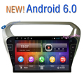 Quad core 10.2 polegada 1024x600 tela de toque HD Android 6.0 Do Carro DVD GPS Multimídia Para Citroen 301 com mapas