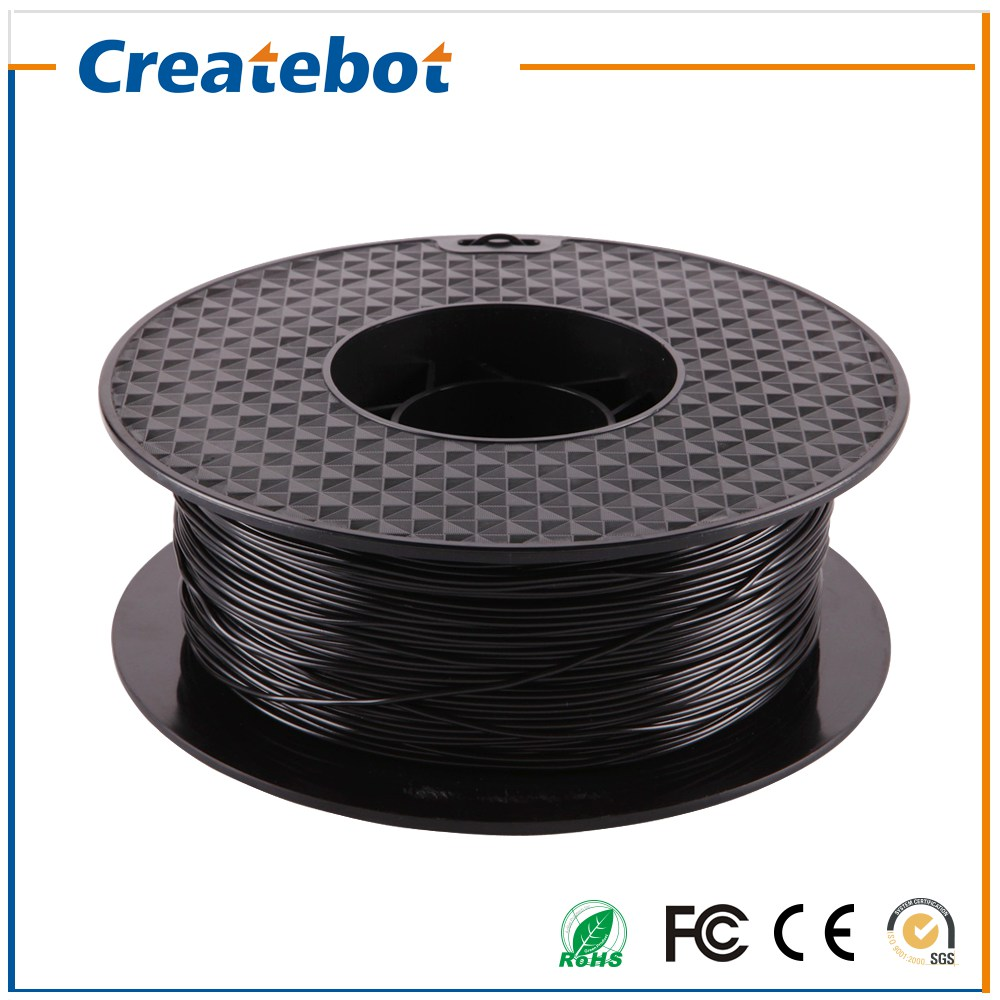 3D Printer Filament PLA Filament Black Color 1.75mm 3D Filament 1KG 3d printer Parts Filament семейные футболки anton 2015