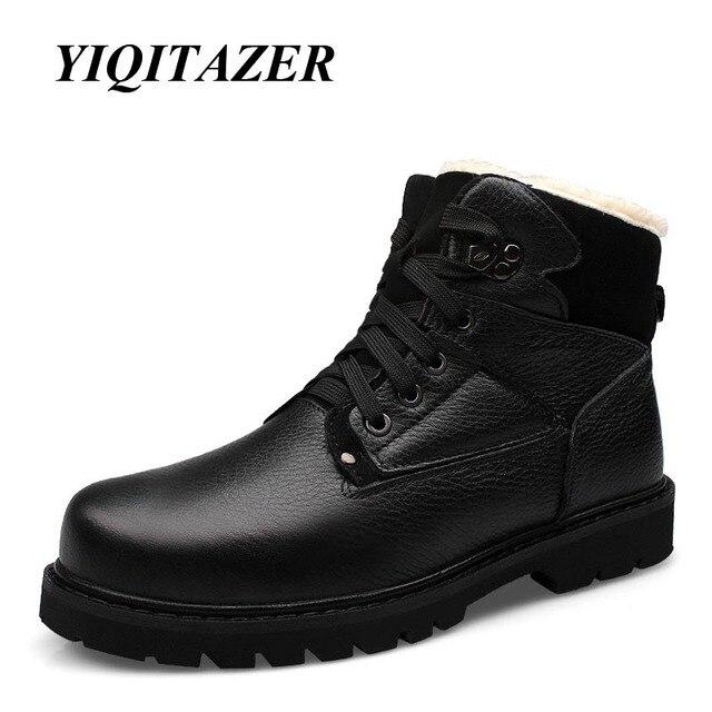 Bras Cuir Véritable 2018 Bottes Chaussures YIQITAZER Homme En 4wPq7wOx