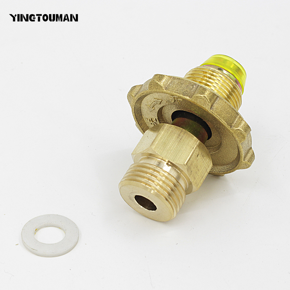 """Gas Stove Refill Burner Lpg Flats Cylinder Tank Outdoor Adapter Safe""""Switch JD"""