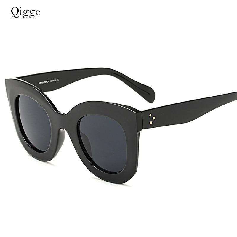 Qigge Nueva Moda Cat Eye Mujeres Gafas de Sol Mujeres Diseñador de - Accesorios para la ropa - foto 2
