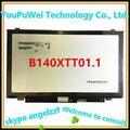 14.0 pantalla táctil lcd de matriz b140xtt01.1 para acer e1-432 ''slim notebook reemplazo panel de la pantalla 1366*768 40 pines