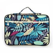 Multi-functional A4 Document bags Waterproof Oxford Cloth Handbag for School Office Filing Notebooks Bag Supplies цены