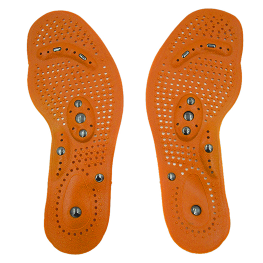 Magnetic insole care footbed magnetotherapy Foot Massage Magnet Therapy foot pain acupuncture points foot Health #FM1188 4