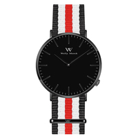 Welly merck Для мужчин Роскошные часы минималистичный Дизайн кварц двигаться Для мужчин t сапфировое стекло аналоговый Водонепроницаемый наруч