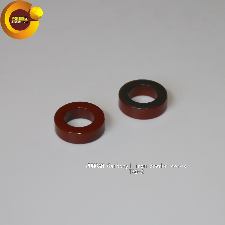 T80 2 Carbonyl iron powder cores high frequency radio frequency magnetic core