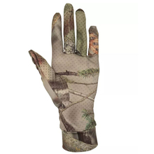 New Spring Summer outdoor Bionic camouflage gloves Hunting Tree Reeds Full gloves Anti-slip elastic touch screen Fishing gloves protective gloves camouflage fingerless gloves waterproof camera fishing touch screen