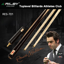 Original RILEY RES701 High-end Handmade One Piece Snooker Cue with Case with Extension 9.5mm One Piece Billiard Snooker Stick original riley slghtrlght rsr 9e snooker cue high end billiard cue kit stick with case with riley extension 9 5mm tip snooker