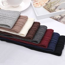 Sexy Women Girl Thigh High Stockings Over Knee High Stocking 8 Colors Cute Long Cotton Warm Knitted Twist Stockings Winter