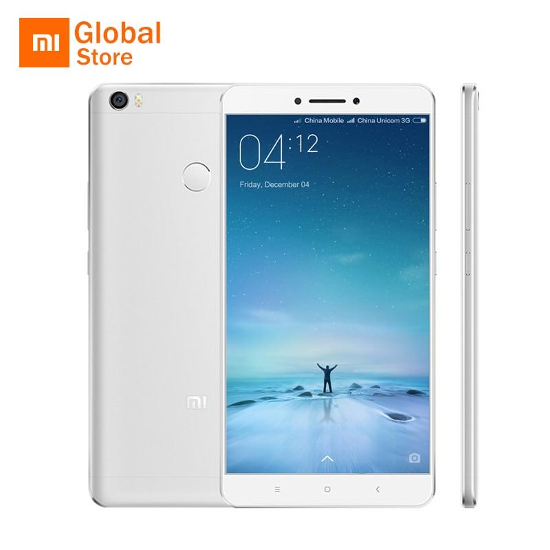 "Original Xiaomi Mi Max Pro 64GB ROM 6.44"" 4850mAh Mobile Phone Snapdragon 652 Octa Core 1920x1080P 3GB RAM Fingerprint ID"