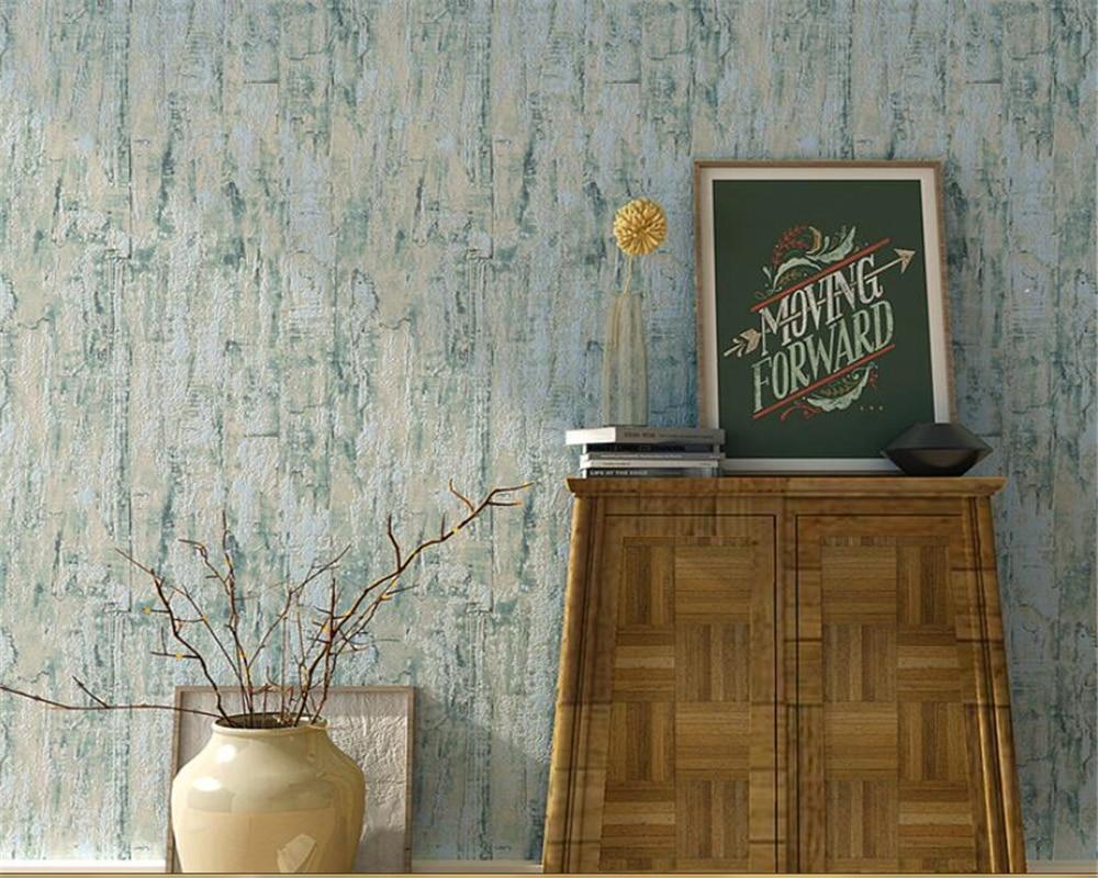 Beibehang High quality modern wood grain wallpaper nostalgic vintage bedroom desktop restaurant tv wall background 3d wallpaper beibehang environmentally friendly wallpaper back to basics simulation wood striped wallpaper villa restaurant bedroom backgroun