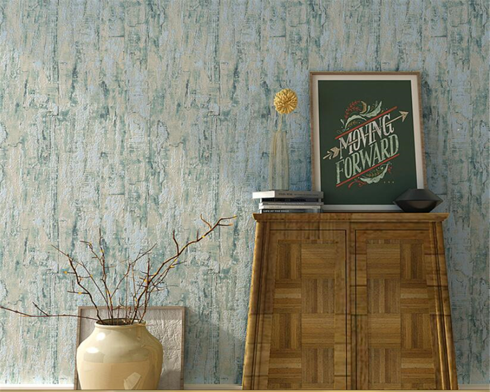 Beibehang High quality modern wood grain wallpaper nostalgic vintage bedroom desktop restaurant tv wall background 3d wallpaper
