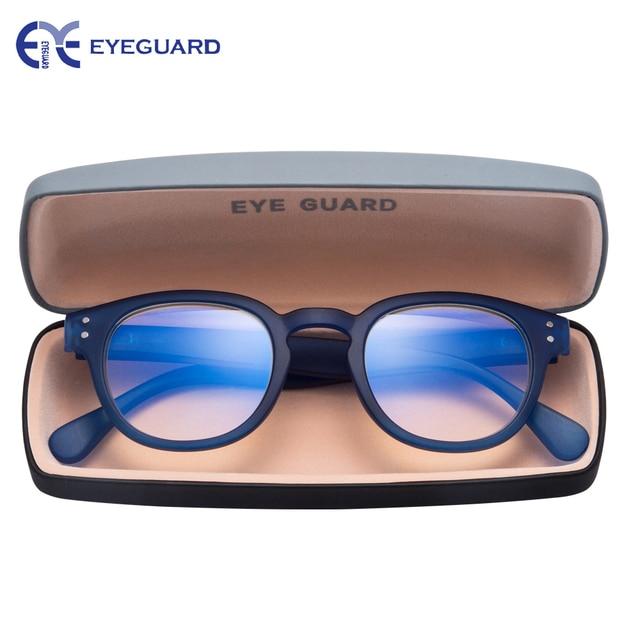 0d60dcdf10 EYEGUARD Readig Glasses Anti Blue Light   Anti Block Glare Computer Game Readers  Men Women Blue