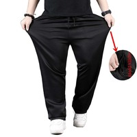 Spring Summer Sweat Pants Men Hip Hip Fashion Plus Size Clothing Straight Loose Baggy Sweatpants Joggers Streetwear Trousers