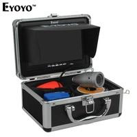 Eyoyo 30M 1000TVL Full Silver Underwater Camera For Fishing 12Pcs Infrared IR LED 7 Inch TFT