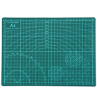 1PC PVC Cutting Mat A4 Durable Self-healing Cut Pad Patchwork Tools Handmade Diy Accessory Cutting Plate Dark Green 30*22cm