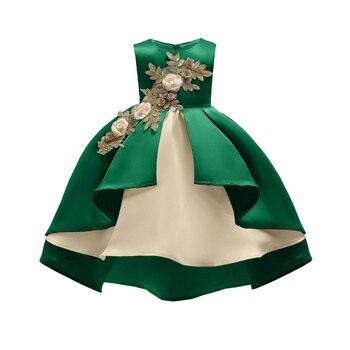 be379dd2061 Платье принцессы для маленьких девочек на весну и осень ...