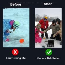 "Erchang Fish Finder Underwater Fishing Camera7"" 1000TVL HD Waterproof  Video Underwater Camera 12 PCS Infrared Lamp ICE Fishing"