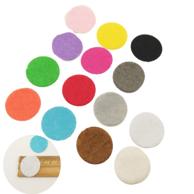 500pcs 2.5CM Felt Circles Eco-friendly Round Felt Fabric Pads Accessory Patches Circle Felt Pads Fabric Flower Accessories
