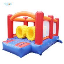 Best Selling Oxford and PVC Obstacle Course Inflatable Bouncer Bounce House Moonwalk Bouncy Castle for kids