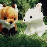 Cartoon fox plush toys cute animal plush education toys for baby kids Birthday Gift*40cm