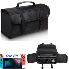 Estuche de transporte de almacenamiento de viaje para Nintendo Switch, bolsa de mensajero dura protectora para Nintendo Switch NS