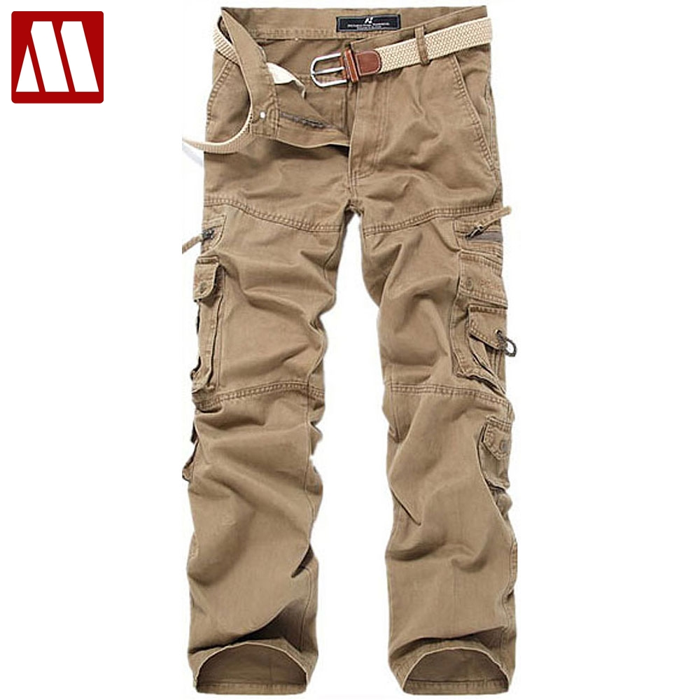 MYDBSH cotton casual pant male Military man's trousers