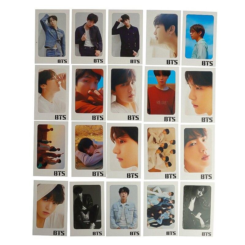 Cards Self Made KPOP Bangtan LOMO Card Photocard Boys LOVE YOURSELF Tear Album Transparent Photo Card