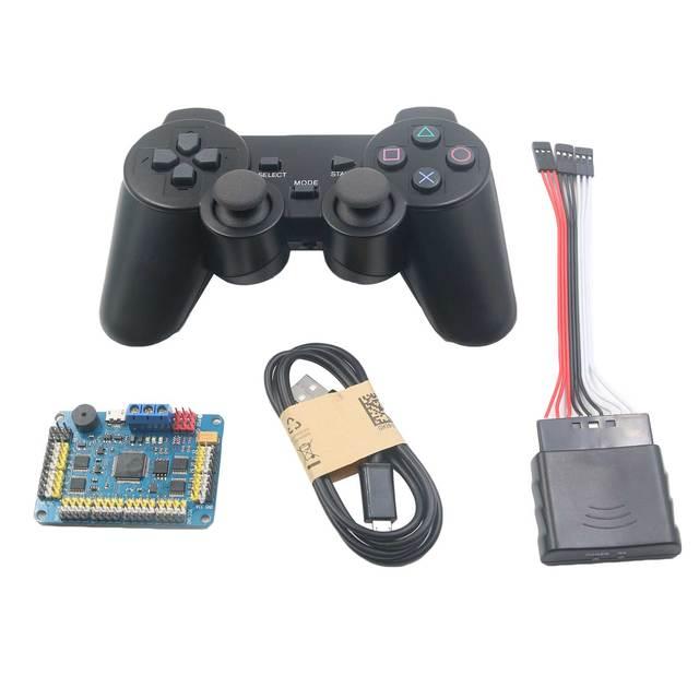 Игрушка Робот-Манипулятор 32CH Сервоконтроллер Совета и Робот PS2 Контроллер и Приемник для Arduino DIY