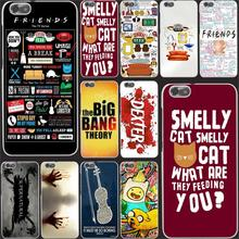 5741-OIE FRIENDS FUNNY TV SHOW Hard Case Transparent Cover for Huawei P6 P7 P8 Lite P9 Plus & Honor 6 7 4C 4X G7