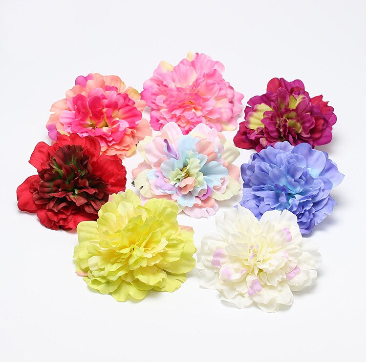 New Flocking Cloth Flower Hair Clip Hairpin Beach Headdress Bohemia Hair Accessories For Bridal Wedding 8colors Free Shipping women girl bohemia bridal camellias hairband combs barrette wedding decoration hair accessories beach headwear
