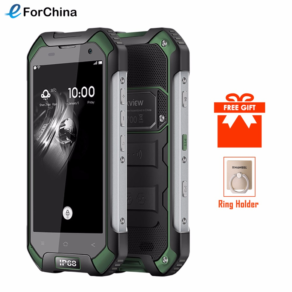 Blackview BV6000S 16GB Android 6.0 MTK6735 Quad-core 1.3GHz 2GB RAM 4.7 inch IPS Screen 4G LTE 4200mAh