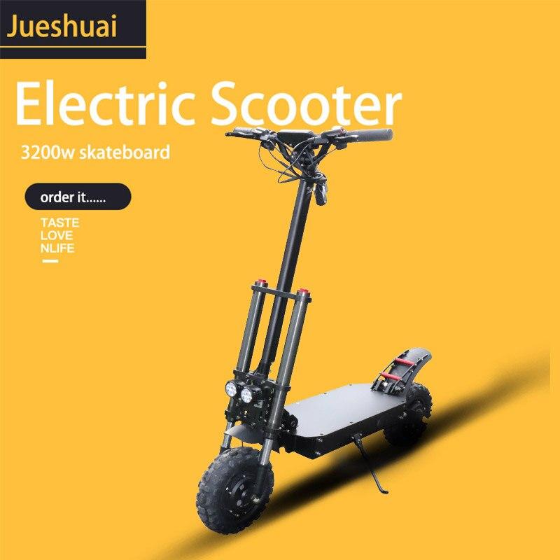60V 3200W adulte Scooter électrique 80 km/h pliable hoverboard 60V 35A Samsung électrique kick scooter 11