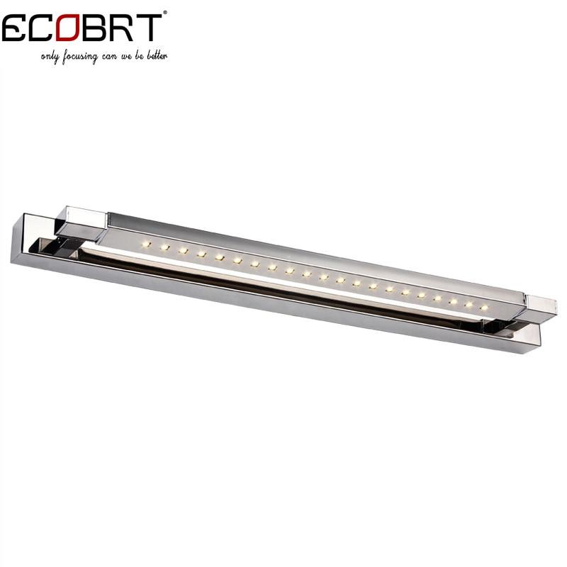 ECOBRT Bathroom Led Wall Lights 47cm Long Indoor over mirror LED Lamps 5W Adjustable Beam Angel