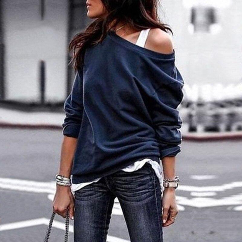 New Arrivals  Fashion O-Neck Long Sleeve Women Tops Streetwear T-Shirt Korean Clothes Spring Autumn T Shirt