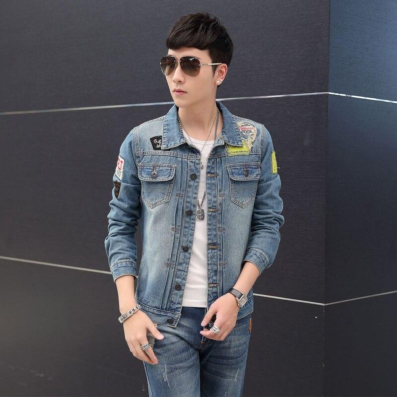 8f5eaab5c1d Denim Jacket Men 2017 Winter Jean Jacket Top Quality Denim Jackets Men Hip  Hop Clothing Long Sleeve Street Wear Jeans Jackets-in Jackets from Men s  Clothing ...